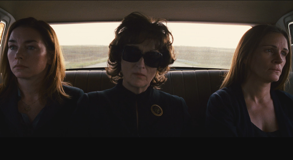 August Osage County, Meryl Streep, Julia Roberts, Holiday Movie Guide