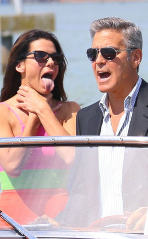 George Clooney, Sandra Bullock, Venice Film Festival