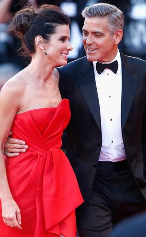 Sandra Bullock, George Clooney, Venice Film Festival