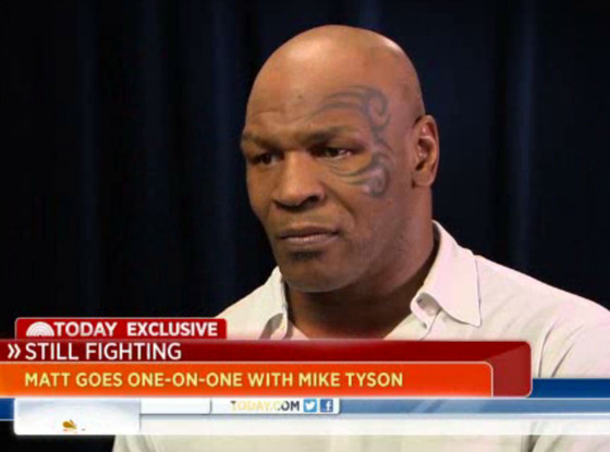 Mike Tyson, Today Show