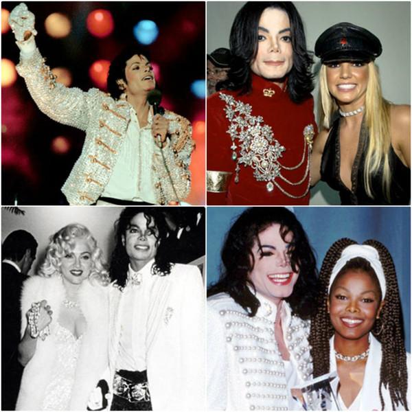 Michael Jackson, famosos