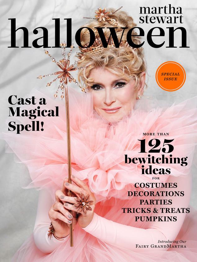 Martha Stewart Shows Off Fairy GrandMartha Halloween Costume   E! News