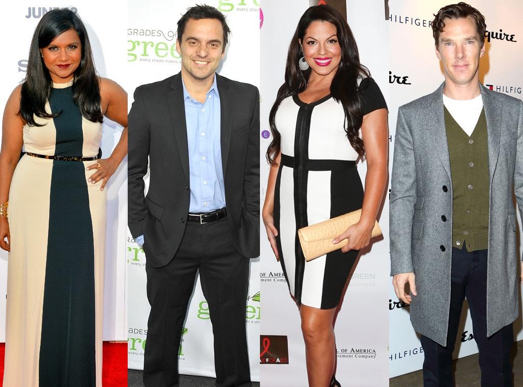 Jake Johnson, Sara Ramirez, Benedict Cumberbatch, Mindy Kaling