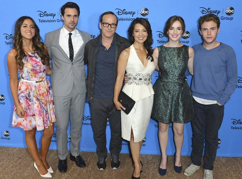 ABC TCA Party, Agents of S.H.I.E.L.D. Cast