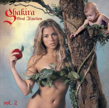 Shakira, portada