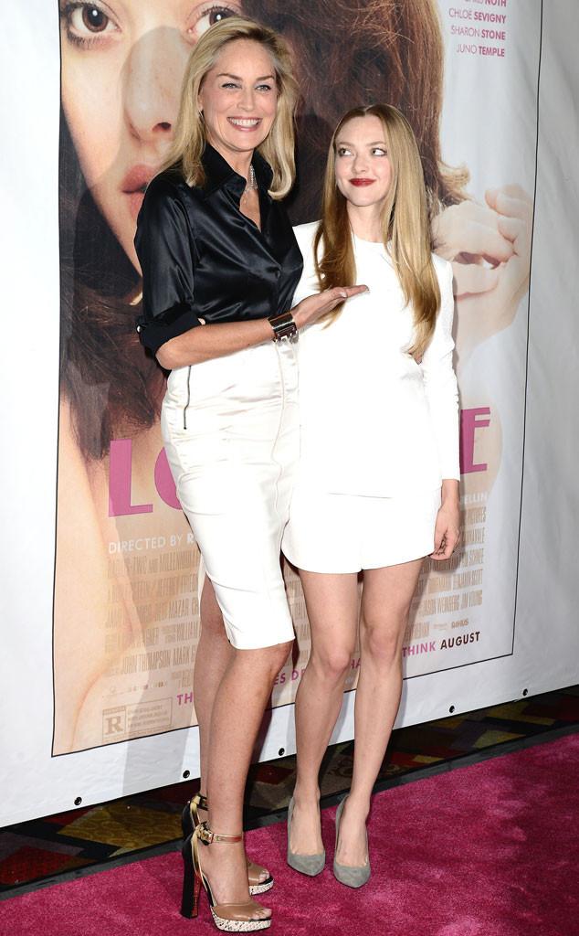Sharon Stone, Amanda Seyfried