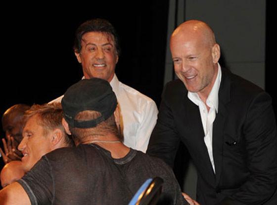 Sylvester Stallone, Bruce Willis