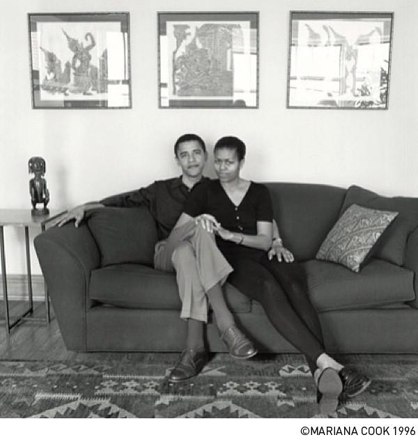 Barack Obama, Michelle Obama,  MARIANA COOK