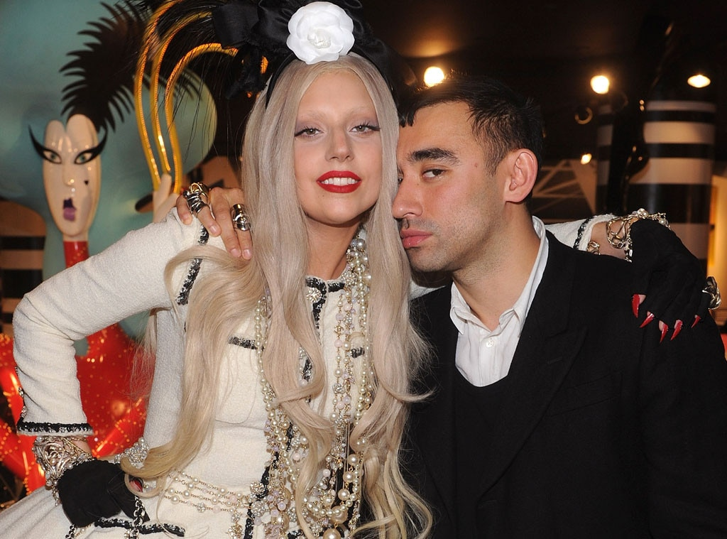 Nicola Formichetti -  Gaga first began working with the future Nicopanda designer back in 2009 when he was hired as her stylist for a shoot with photographer  Sebastian Faena  for the July 2009 issue of  V Magazine . From that day through 2013, Formichetti would play a major role in her style as the Haus of Gaga's art director, with both hoping to reshape the world of fashion by making it accessible for everyone.