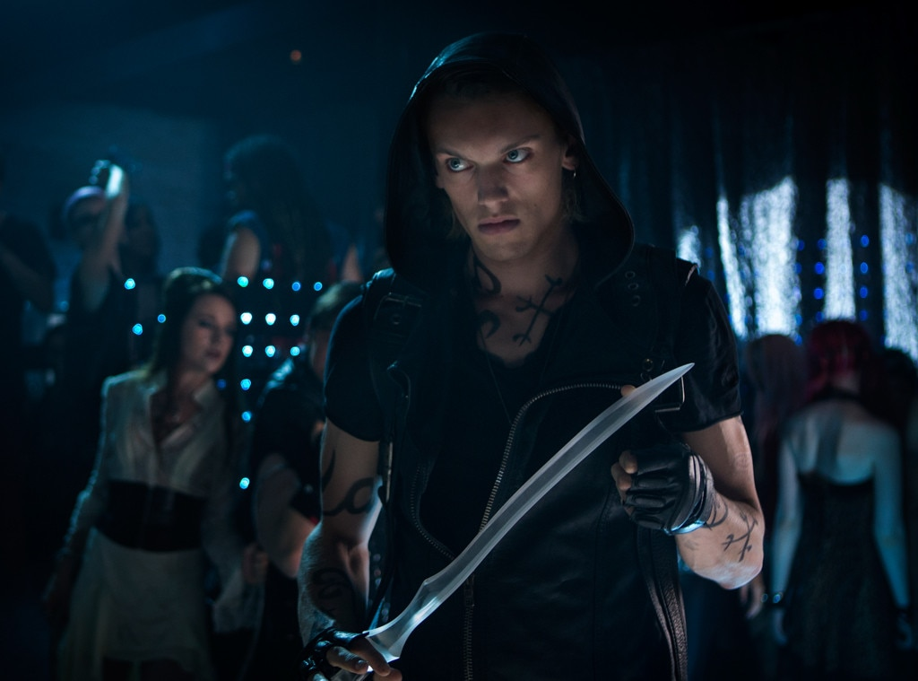Jamie Campbell Bower From Mortal Instruments City Of
