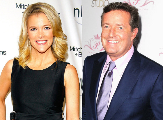 Megyn Kelly, Piers Morgan