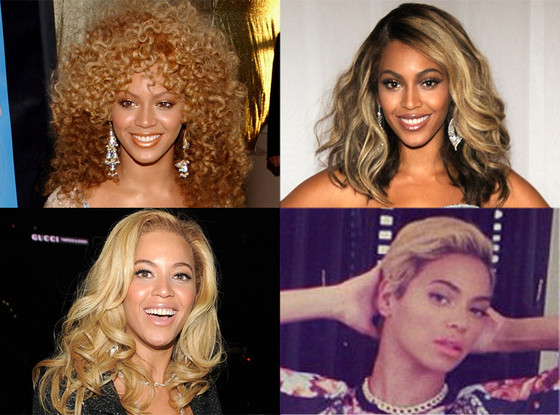 Beyonce, Hair Transformations