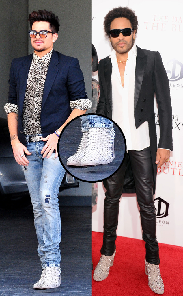 Adam Lambert, Lenny Kravitz