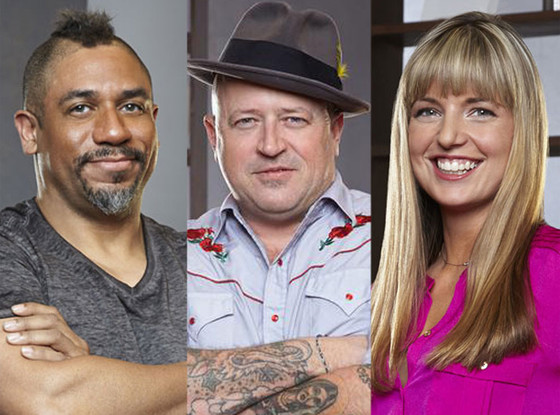 Food Network Star, Russell, Damaris, Rodney