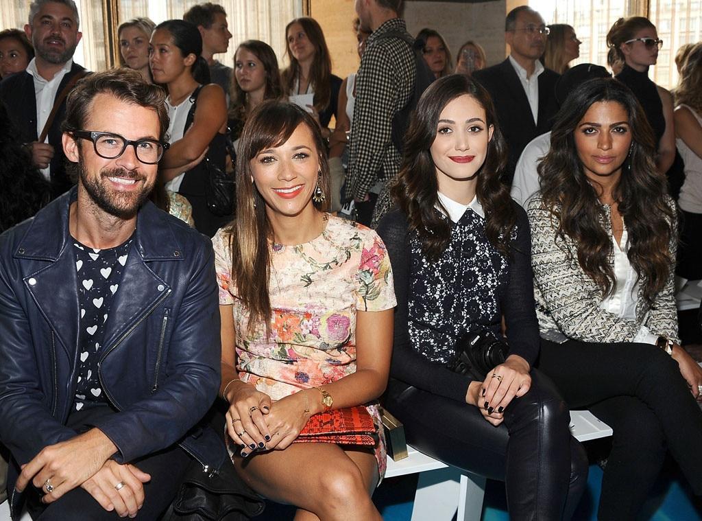 Brad Goreski, Rashida Jones, Emmy Rossum, Camila Alves, NYFW, New York Fashion Week