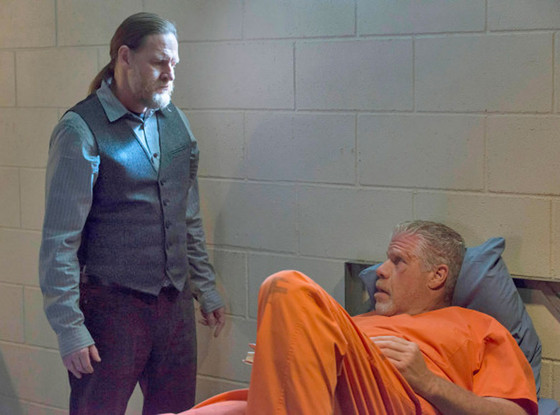 Sons of Anarchy, Donal Logue, Ron Perlman