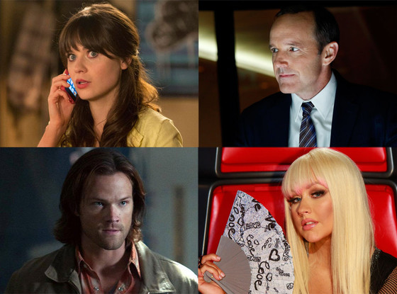 Tuesday Night TV: New Girl, Agents of Shield, Supernatural, The Voice