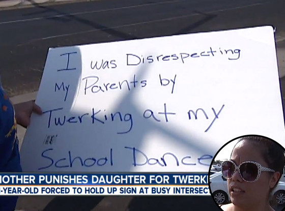 Twerking Punishment