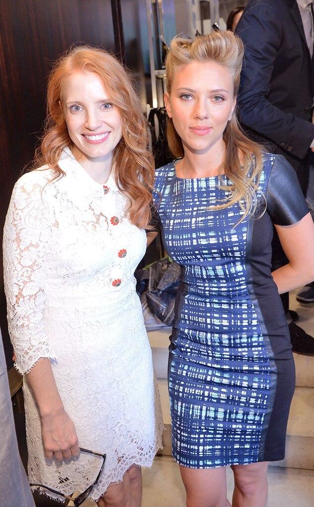 Jessica Chastain, Scarlett Johansson