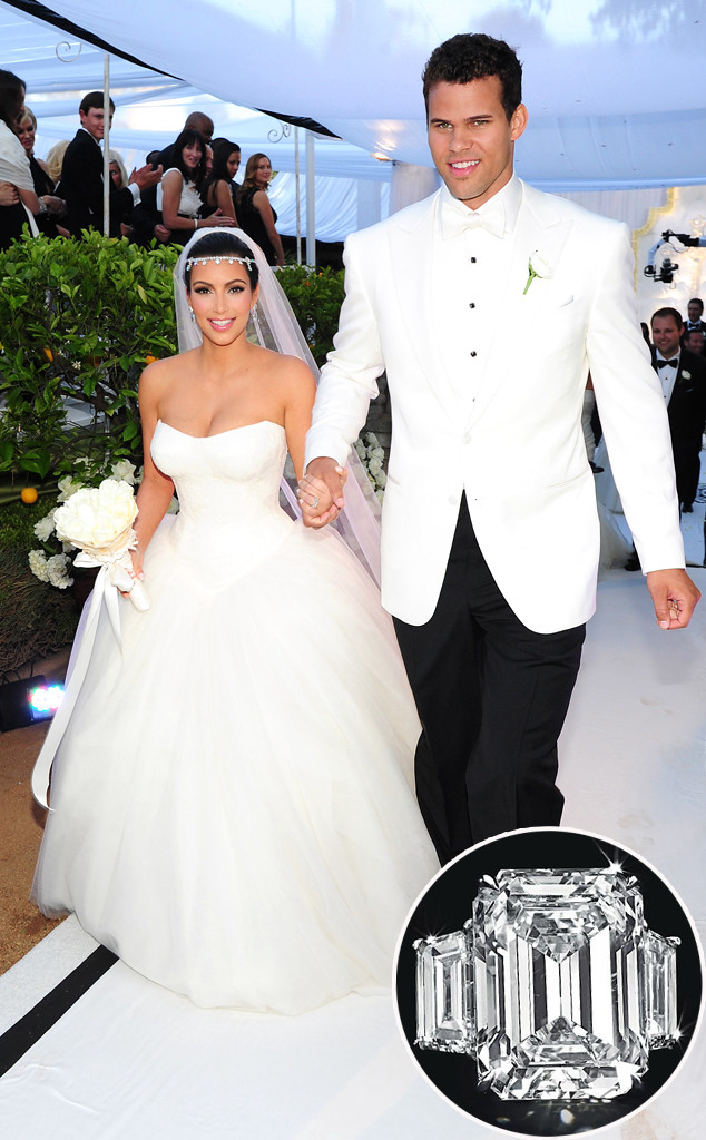 Kim Kardashian S Engagement Ring From Kris Humphries Auctioned Off For 749 000 E Online