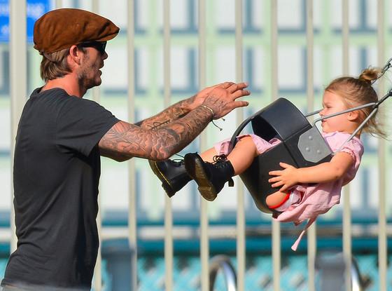 David Beckham, Harper