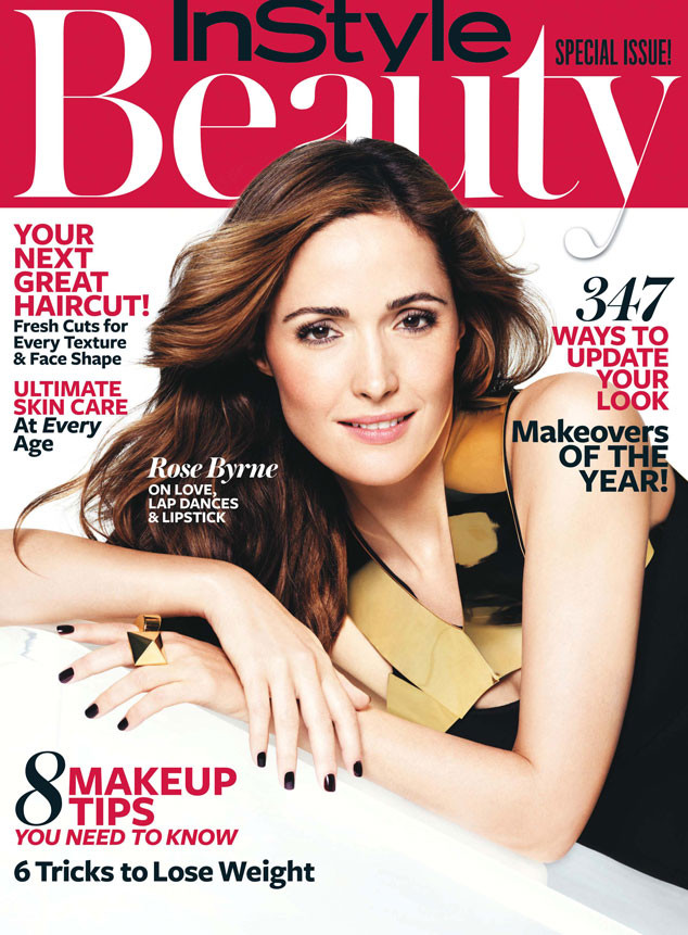 Rose Byrne, InStyle Beauty Magazine Cover