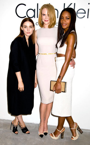 Nicole Kidman, Rooney Mara, Naomie Harris, New York Fashion Week