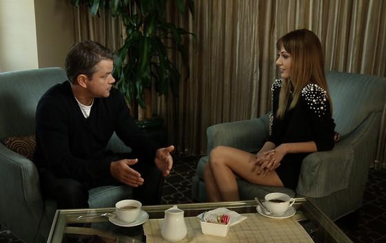 Coffee Break Matt Damon