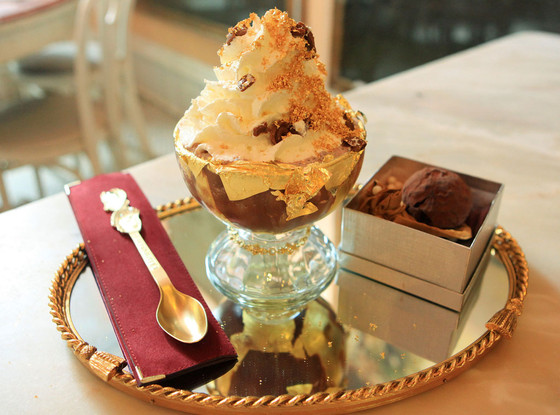 Frrrozen Haute Chocolate Ice Cream Sundae, Powerball