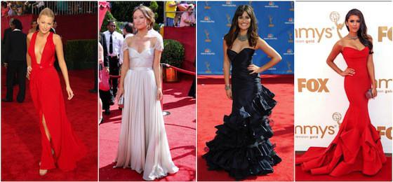 Melhores Looks do Emmy, Blake Lively, Olivia Wilde, Lea Michele, Nina Dobrev