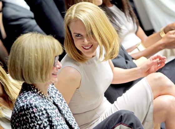 Anna Wintour, Nicole Kidman