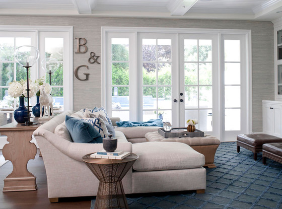Giuliania Rancic Traditional Home