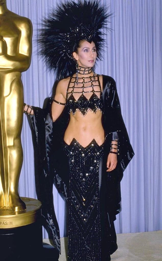 Cher, Oscars, Dresses, 1988