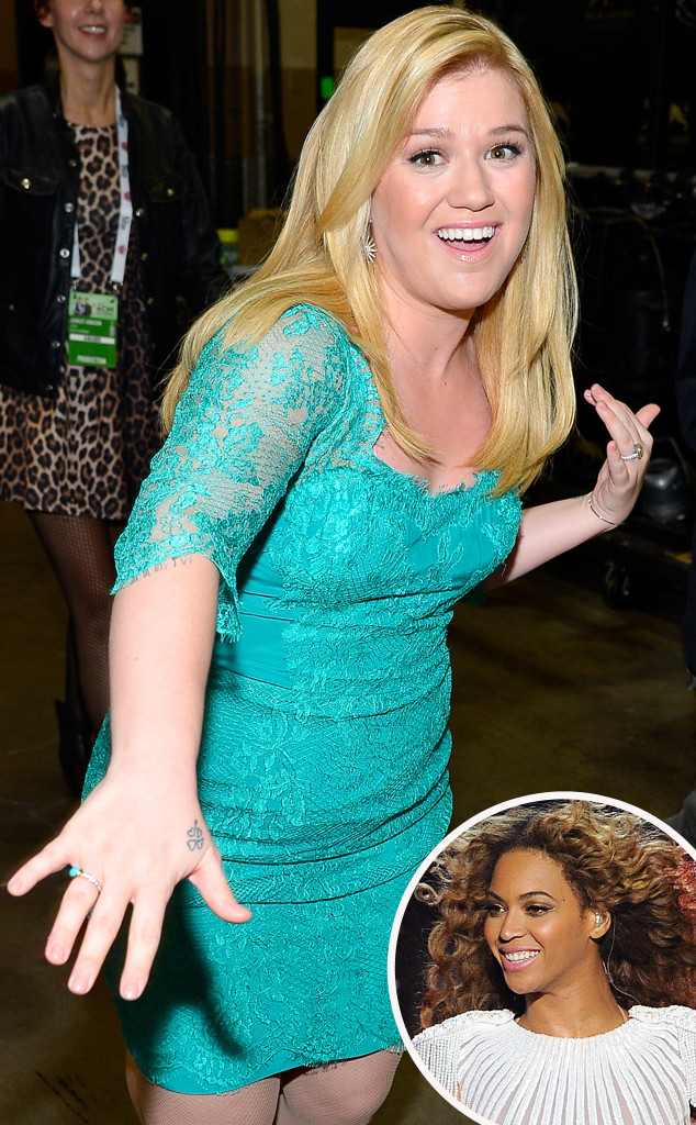 Kelly Clarkson, Beyonce