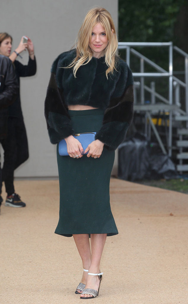 Sienna Miller, London Fashion Week
