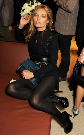 Kate Moss, London Fashion Week