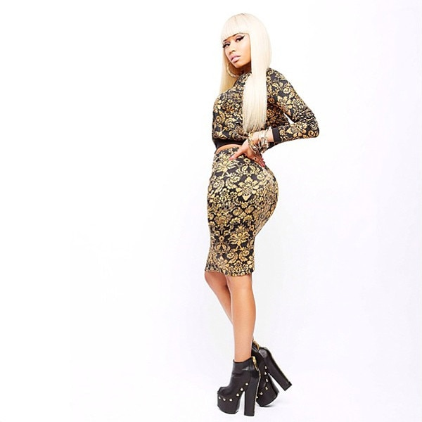Going For Gold From Nicki Minaj S Kmart Collection E News