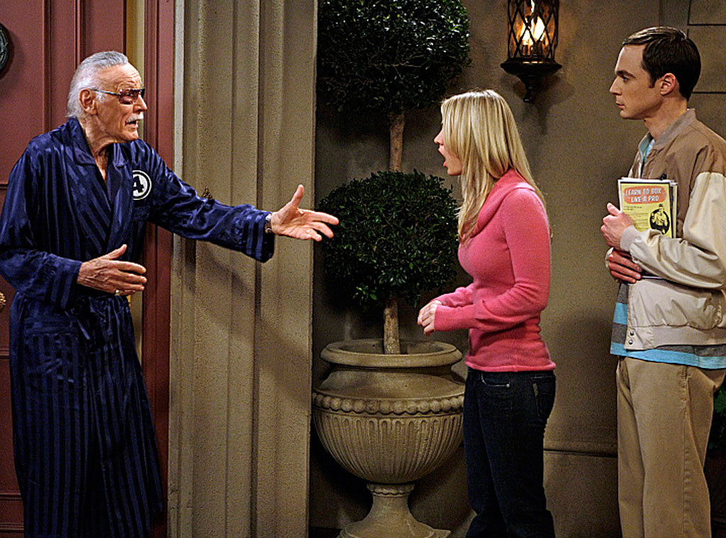 Big Bang Theory Guest Stars, Stan Lee