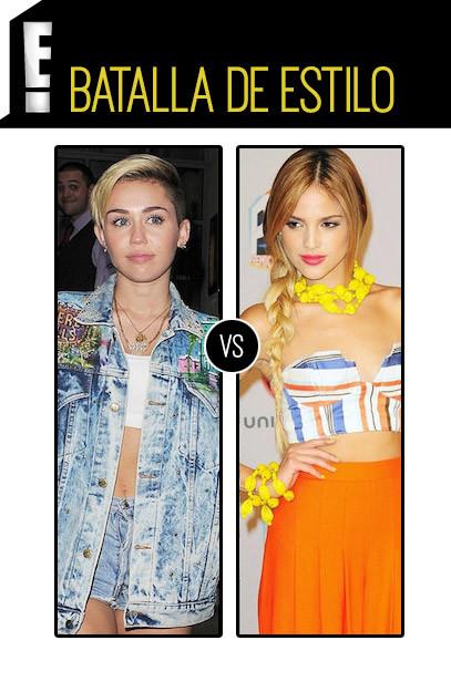 batalla Miley Cyrus, Eiza González