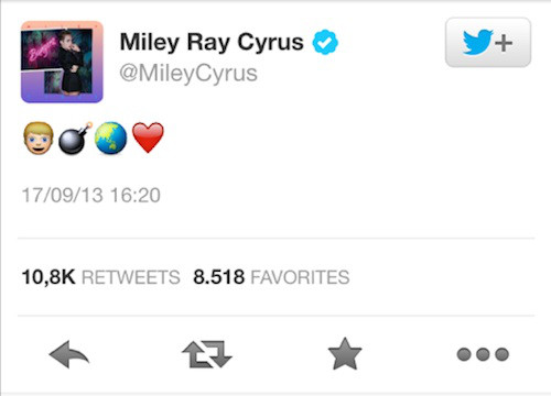 Miley Cyrus Twitter