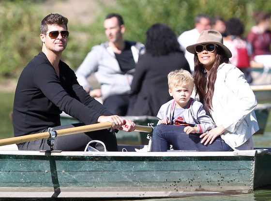 Robin Thicke, Paula Patton, Julian