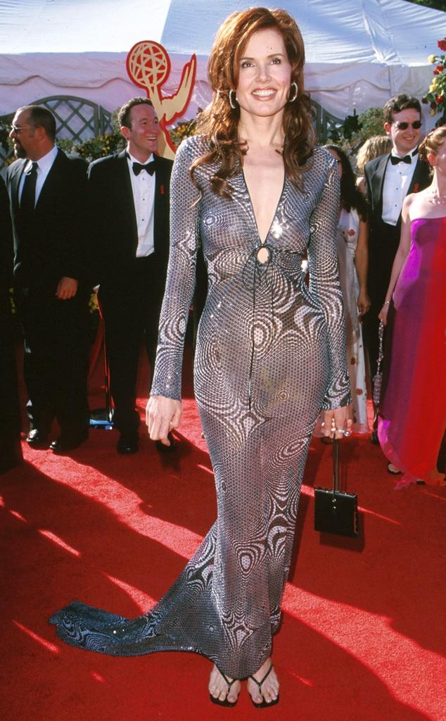 Geena Davis, Emmys Worst Dressed