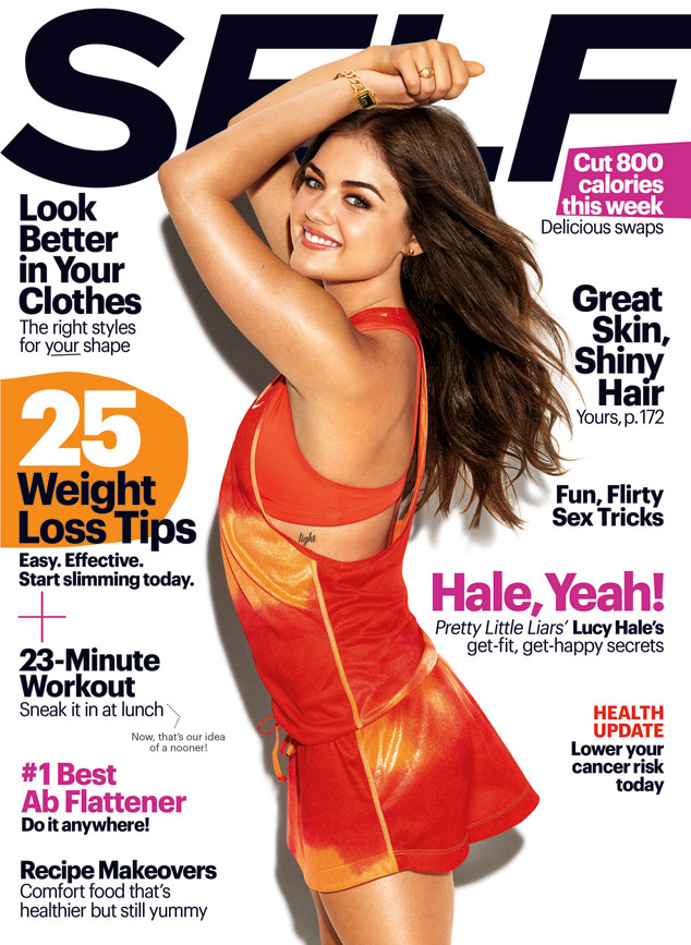 Lucy Hale, Self Magazine