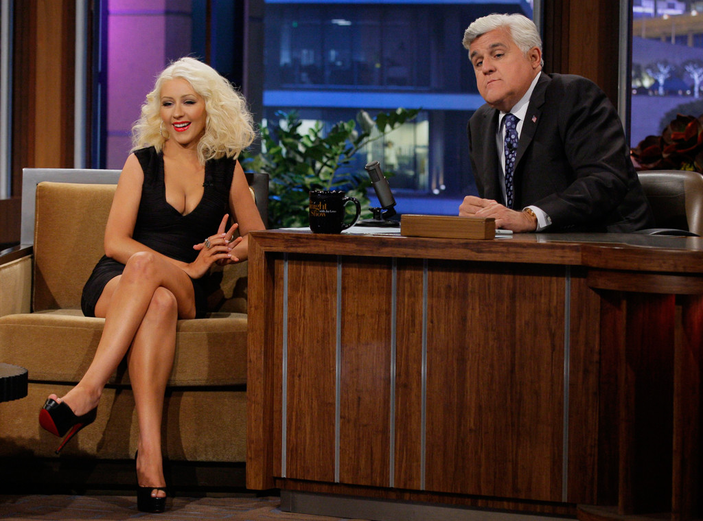 Christina Aguilera, The Tonight Show with Jay Leno