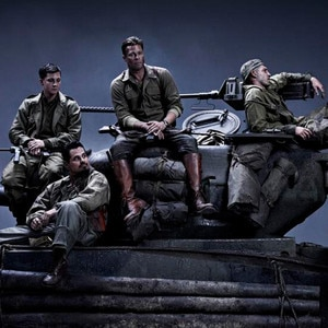 Brad Pitt \u0026 Shia LaBeouf Suit Up as WWII Soldiers in Fury