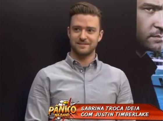 Justin Timberlake, Panico na TV, Sabrina Sato