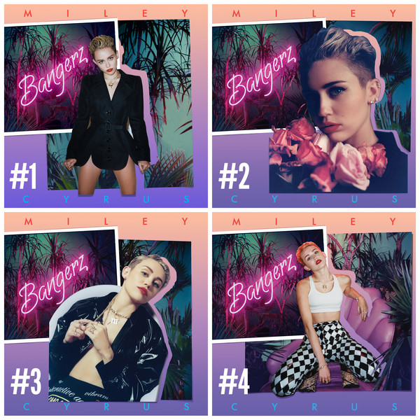 Miley Cyrus, Bangerz covers