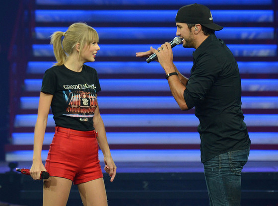 Taylor Swift, Luke Bryant