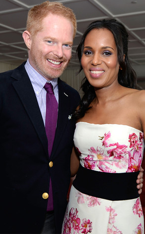 Jesse Tyler Ferguson, Kerry Washington