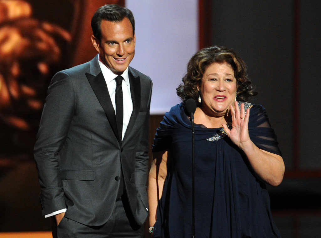 Emmy Awards Show, Will Arnett, Margo Martindale